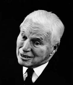 Charles Chaplin 1965 (photo Copy Right ErlingMandelman.ch)